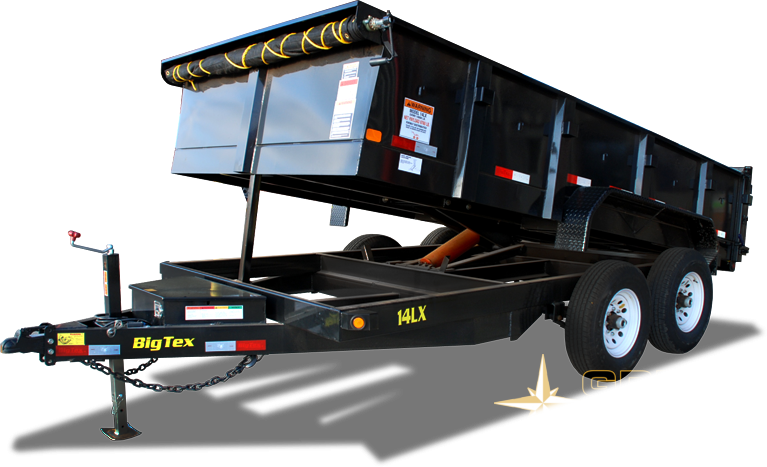 2020 Big Tex Trailers 14LX-16Dump Trailer