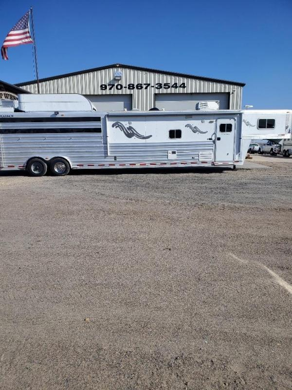 2009 Platinum Coach 5 H Bunk Bed Horse Trailer