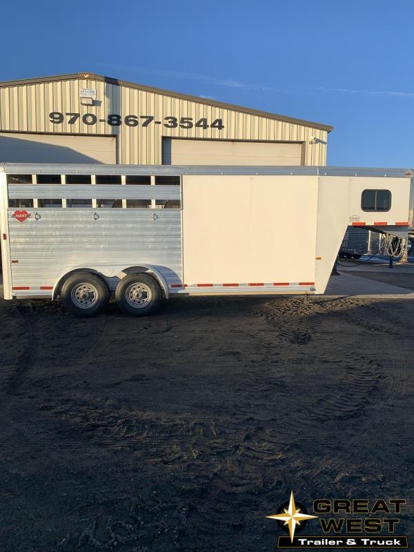2004 Hart Trailers STOCK COMBO Horse Trailer