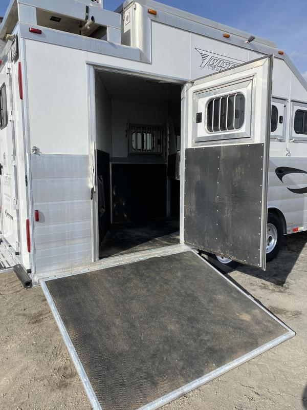 2014 Twister 15'Short wall Slideout PC load 4 Horse Trailer