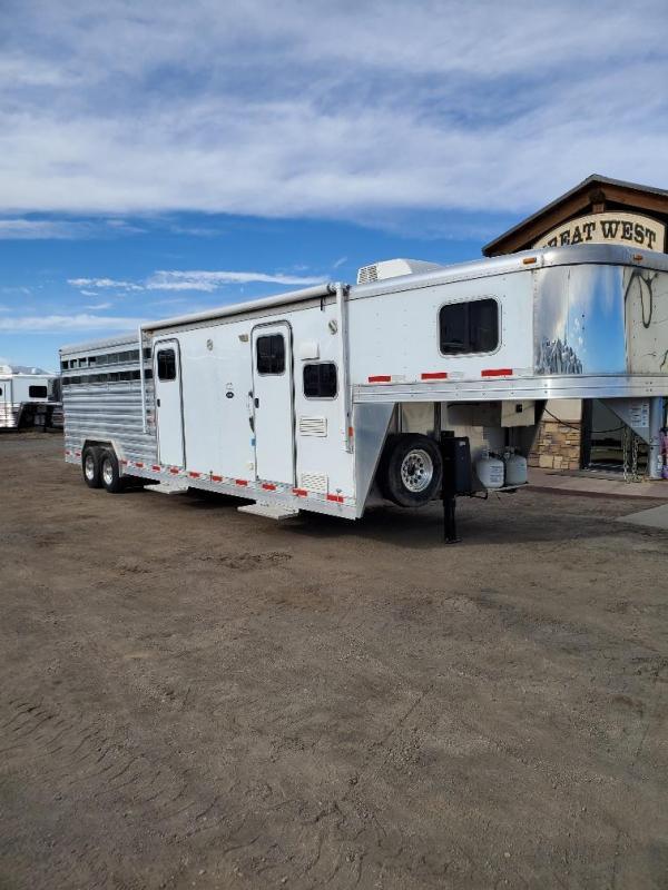 2015 Exiss Trailers 8030 Stock/Combo LQ Livestock Trailer
