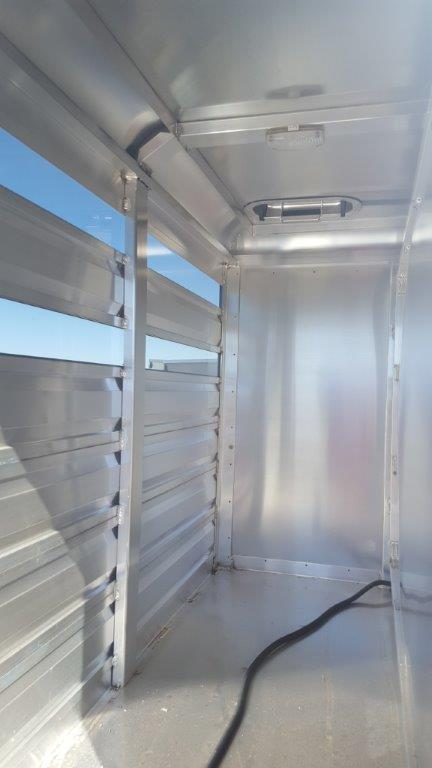 2018 Exiss Trailers Stock Box for Pickup Livestock Trailer
