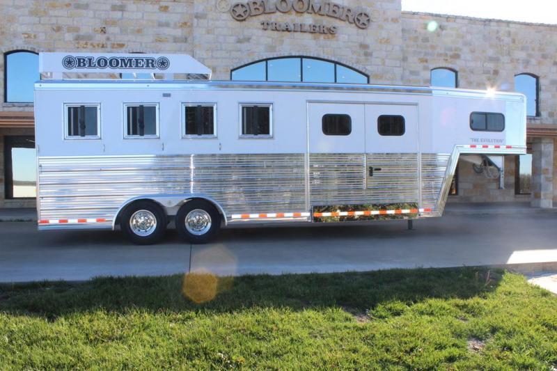 2020 Bloomer Trainers pkg 4 Horse Trailer