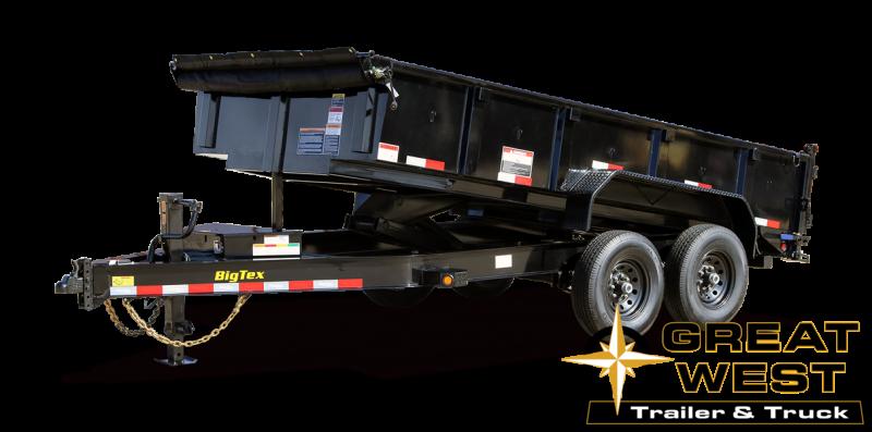 2021 Big Tex Trailers 14LP-12 Dump Dump Trailer