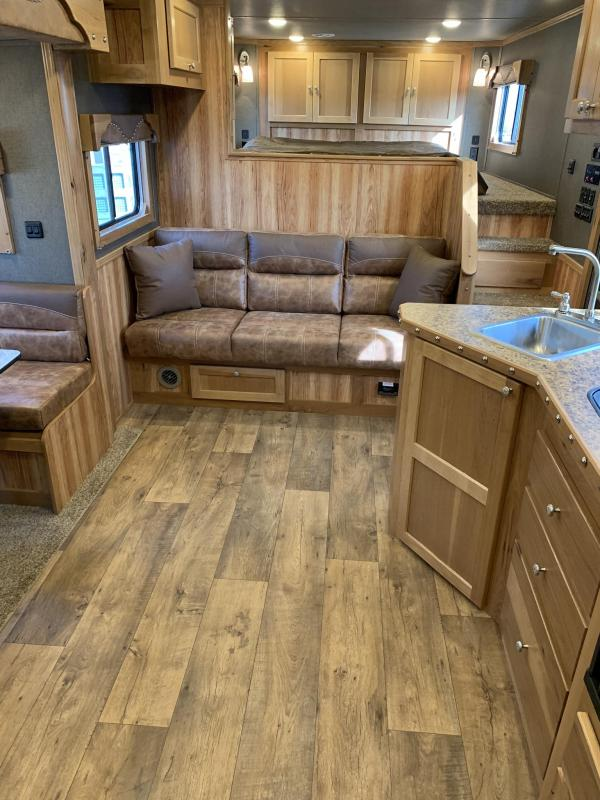 2019 SMC 13' Short Wall slide out 3 Horse Trailers