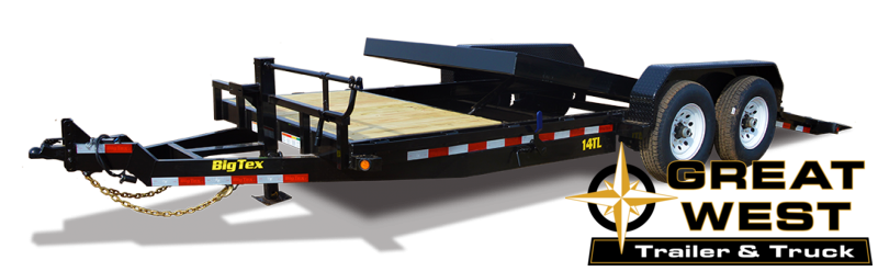 2022 Big Tex Trailers 14TL-20MR Equipment Trailer