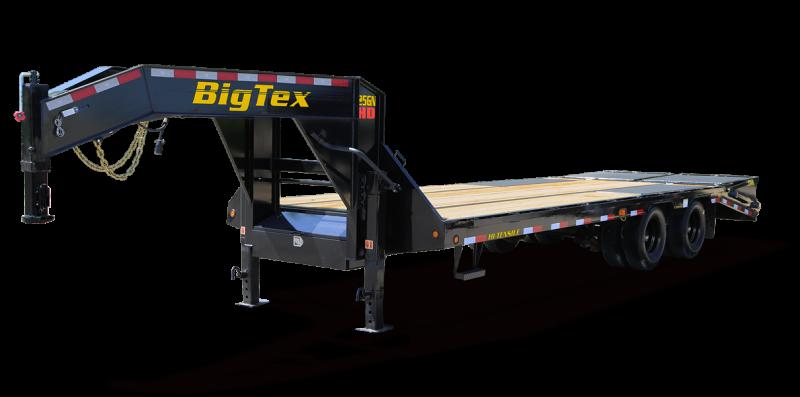 2022 Big Tex Trailers 25GN-30+5MR Flatbed Trailer