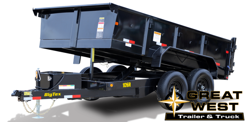2021 Big Tex Trailers 10SR-12XL Dump Trailer