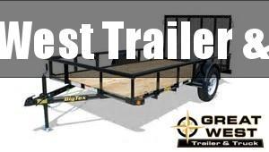 2019 Big Tex Trailers 35SA-10 Utility/ATV Trailer