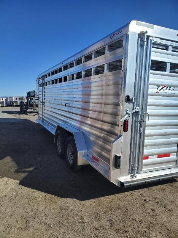 2020 Exiss Trailers Exiss STK7024 Livestock Trailer