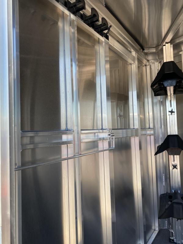 2022 Exiss Trailers 3 Horse Bumper pull CXF Horse Trailer
