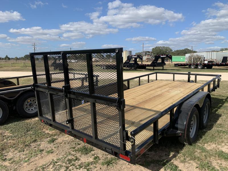 2021 Diamond C Trailers 83X16 UTILITY 4' BI FOLD GATE