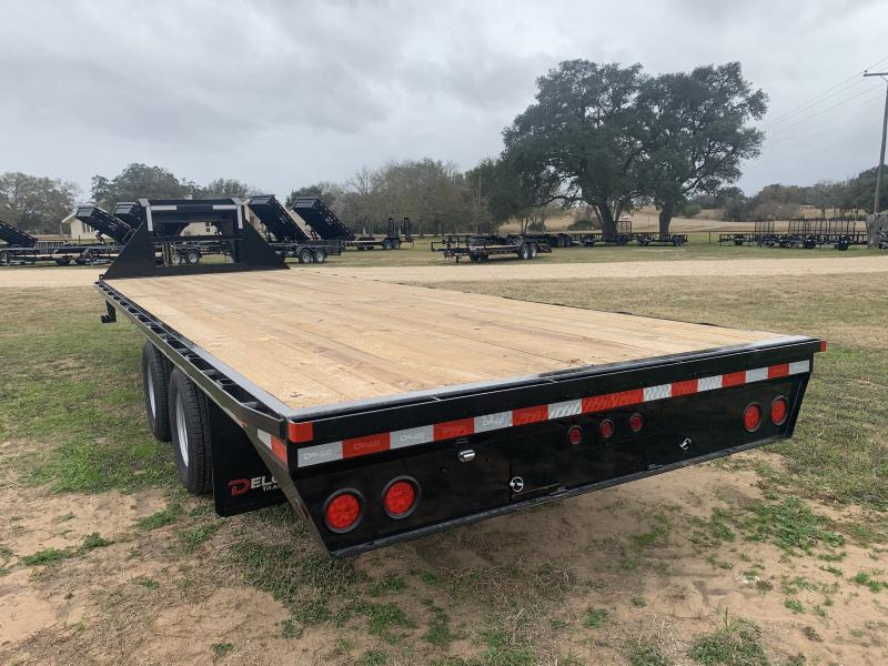 2021 Delco Trailers 25' FLATBED 12K AXLES STRAIGHT DECK