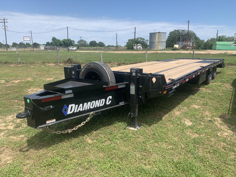 2021 Diamond C Trailers 102X30' FLATBED PINTLE HOOK 30K AIR RIDE