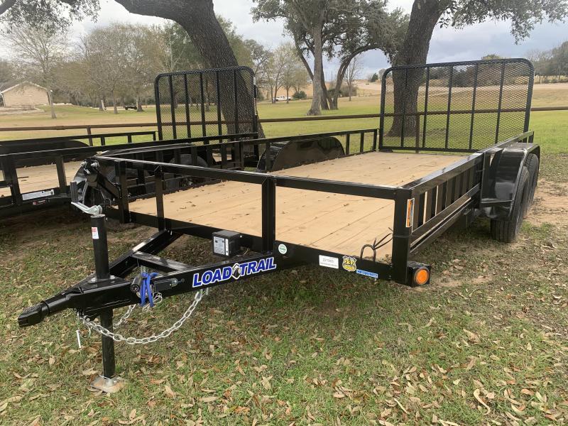 2021 Load Trail 83X16 UTILITY 4' GATE W/ SIDE LOAD RAMPS