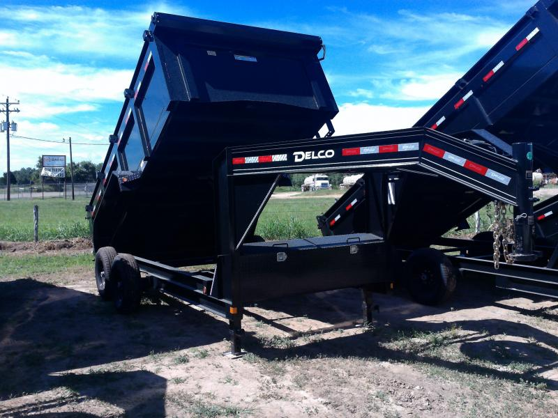 2020 Delco Trailers 83X14 GOOSE. DUMP 3' SIDES 14K