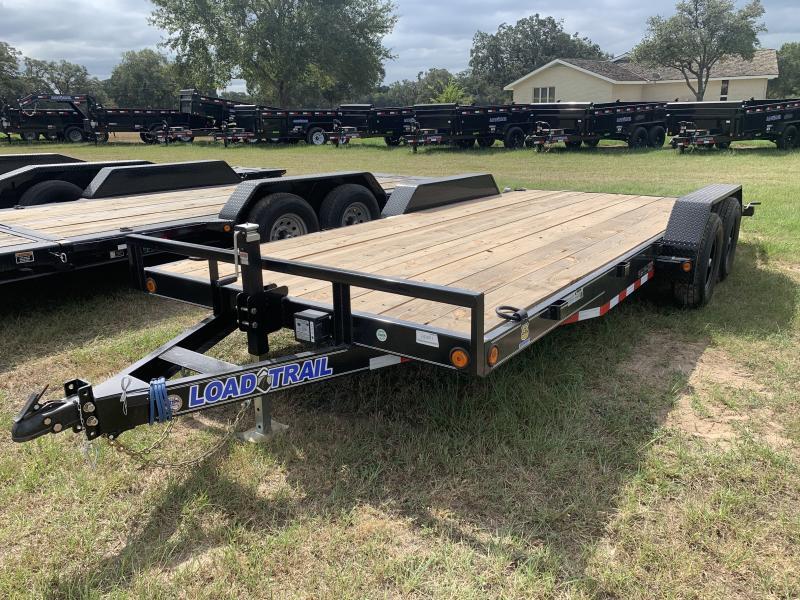 2021 Load Trail XH8318 83X18 LOWBOY SLIDE IN RAMPS
