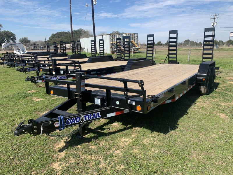 2021 Load Trail 83X22 LOWBOY STAND UP RAMPS 14K