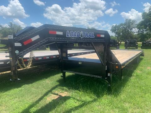 2020 Load Trail 32' FLATBED MAX RAMPS 14K