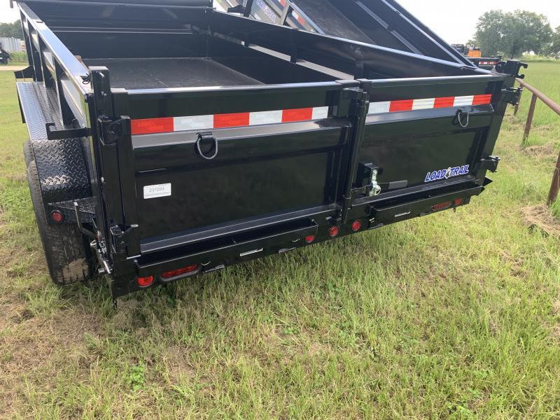 2021 Load Trail 83X14 14K DUMP 2' SIDES