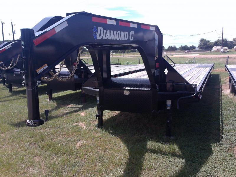 2019 Diamond C Trailers 40' G. STRAIGHT DECK HUTCH SUSPENSION HOT