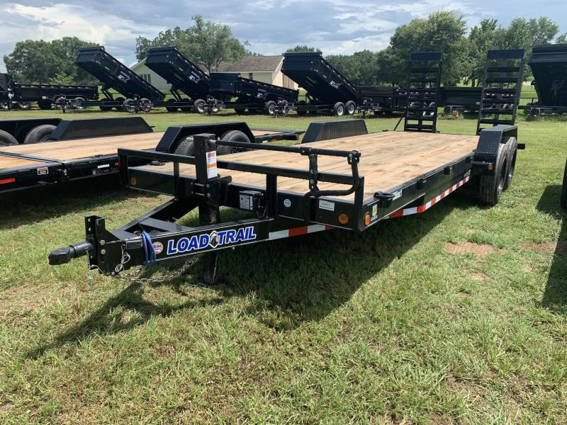 2021 Load Trail 83X22 LOWBOY 16K STAND UP RAMPS