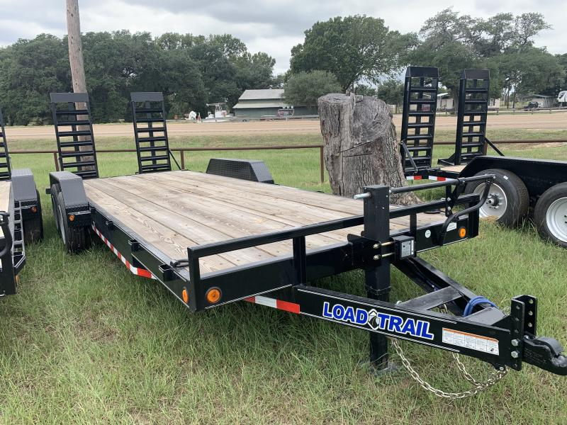2021 Load Trail XH8322 83X22 LOWBOY 16K STAND UP RAMPS