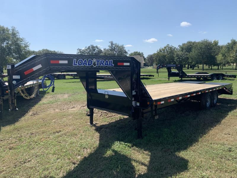 2021 Load Trail 25' GOOSENECK FLATBED MAX RAMPS