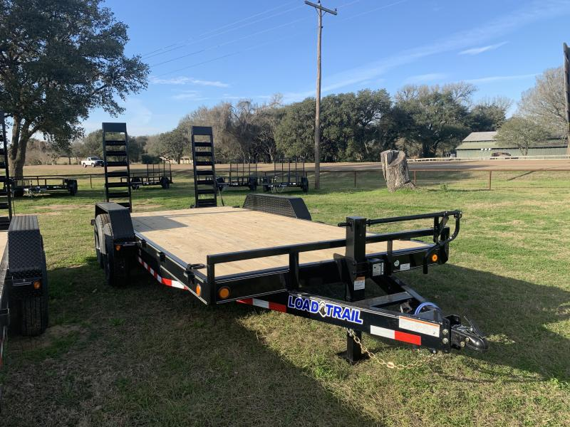 2021 Load Trail 83X18 LOWBOY STAND UP RAMPS 14K