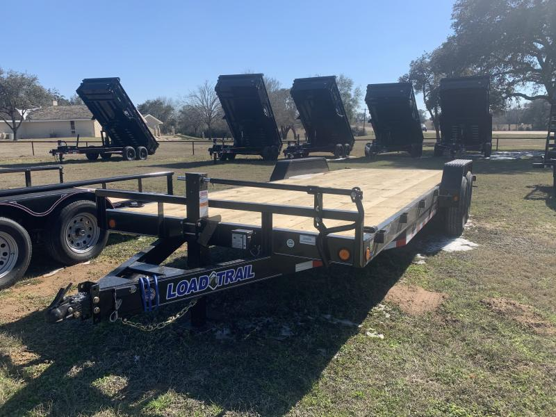 2021 Load Trail 83X22 LOWBOY SLIDE IN RAMPS 14K