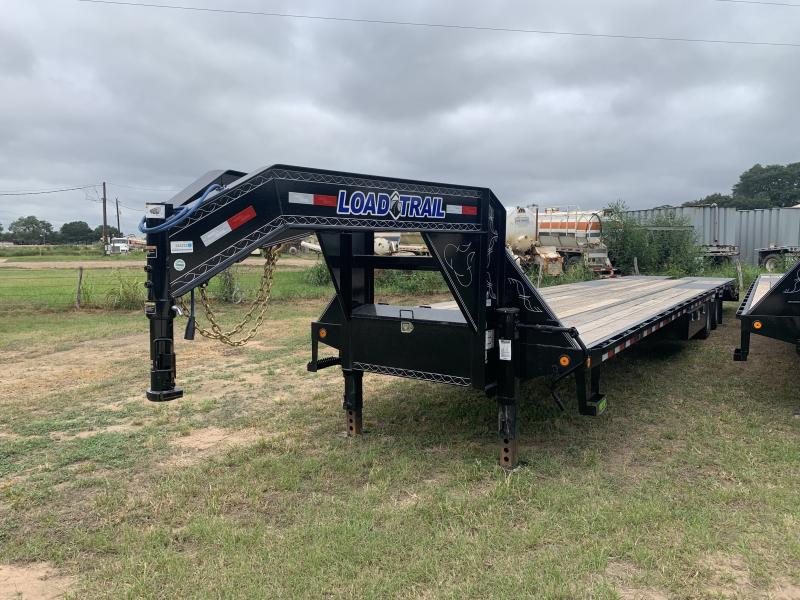 2021 Load Trail GP0240 40' FLATBED MAX RAMPS AIR RIDE 25.9K