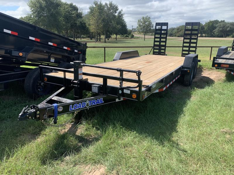2021 Load Trail XH8322 83X22 LOWBOY 14K STAND UP RAMPS