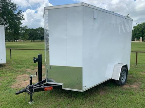 2020 Primetime 6X10 ENCLOSED WITH RAMP DOOR