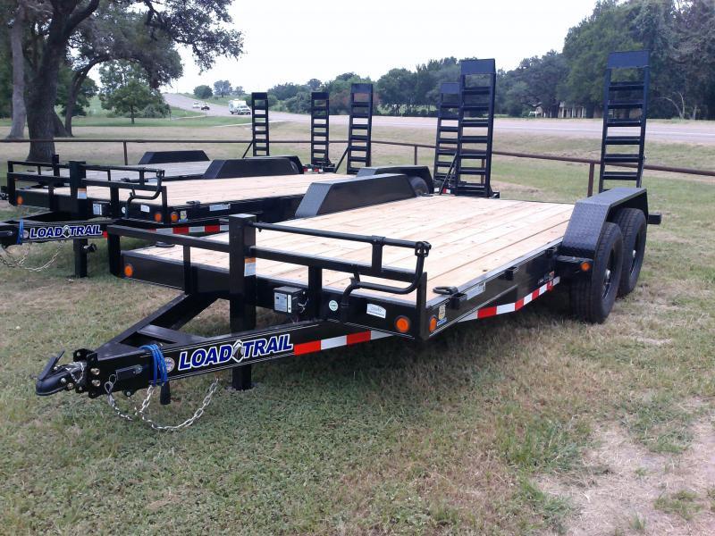 2020 Load Trail 83X16 LOWBOY FOLD UP RAMPS