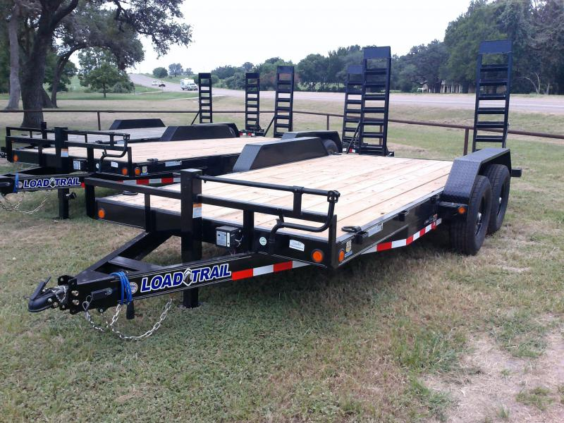 2020 Load Trail 83X16 LOWBOY FOLD UP RAMPS