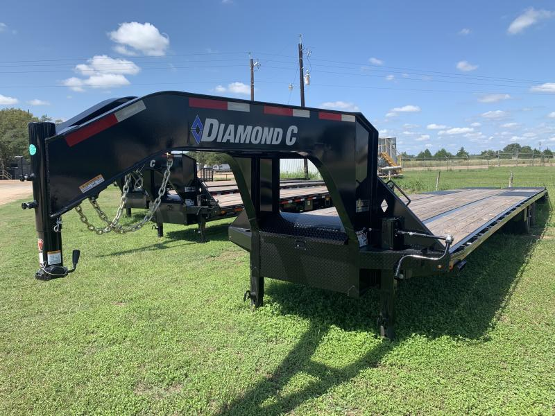 2020 Diamond C Trailers 40' FLATBED MAX RAMPS 25.9K