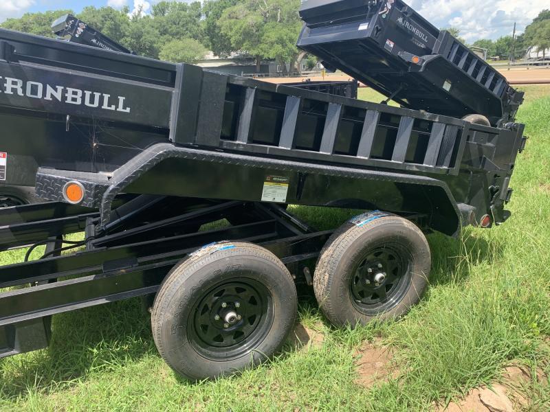 2021 Iron Bull DTB6010 5X10 DUMP 7K