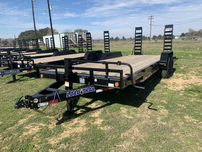 2021 Load Trail 83X20 LOWBOY STAND UP RAMPS 14K