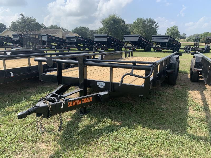 2022 Salvation Trailers CS8320 83X20 PIPETOP 14K