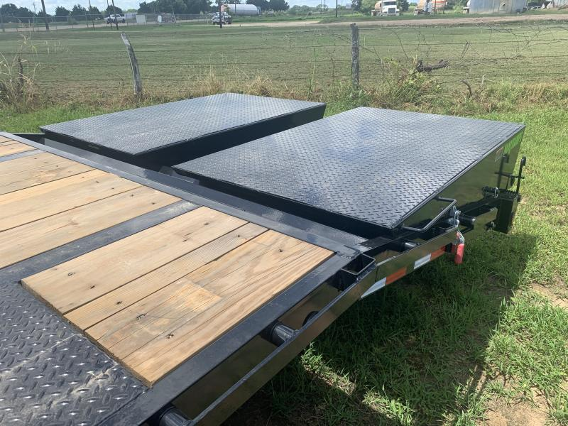 2021 Load Trail 32' FLATBED MAX RAMPS 24K