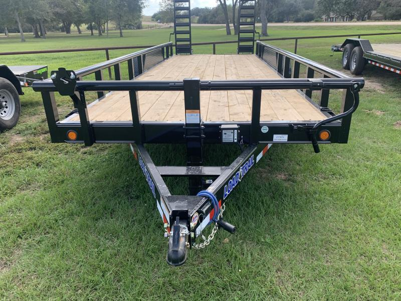 2021 Load Trail 83X20 PIPETOP 14K STAND UP RAMPS