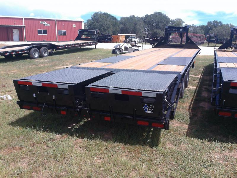 2020 Diamond C Trailers 32' FLATBED MAX RAMPS 25.9K