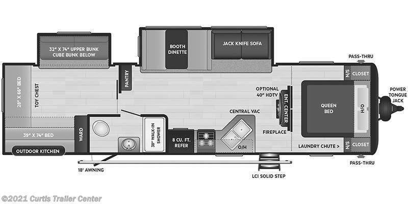 2022 Keystone RV Hideout 318BR