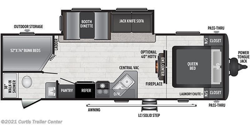 2021 Keystone RV Hideout 272BH