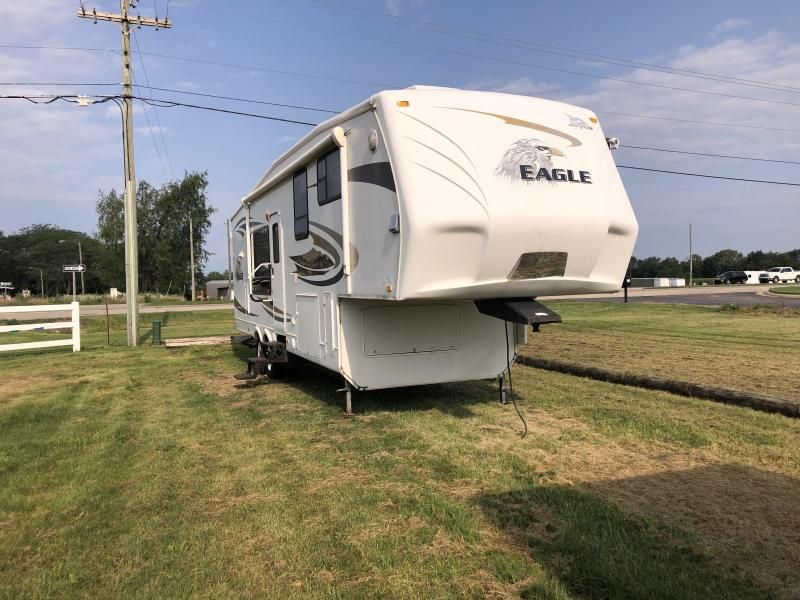 2009 Jayco Eagle REAR KITCHEN DOUBLE SLIDE OUT Fifth Wheel Campers RV