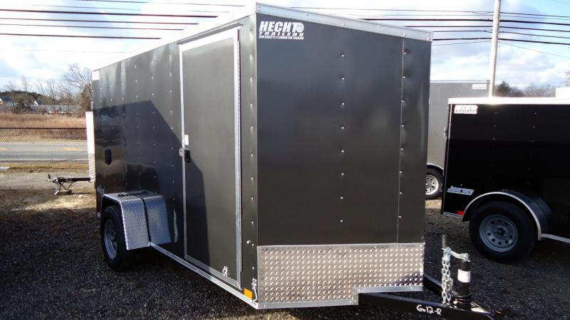 2022 Pace American 6X12 OBDLX SI2 V RAMP SVNT CHARCOAL Enclosed Cargo Trailer