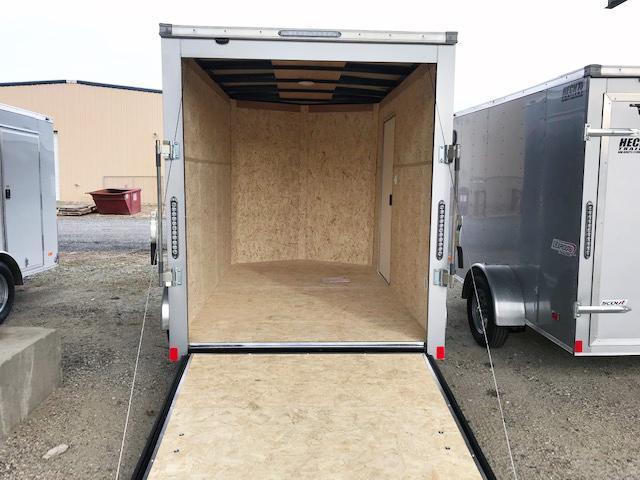 "2021 Bravo Trailers 6X10 SC SA V 6""X LD RAMP APP SILVER Enclosed Cargo Trailer"