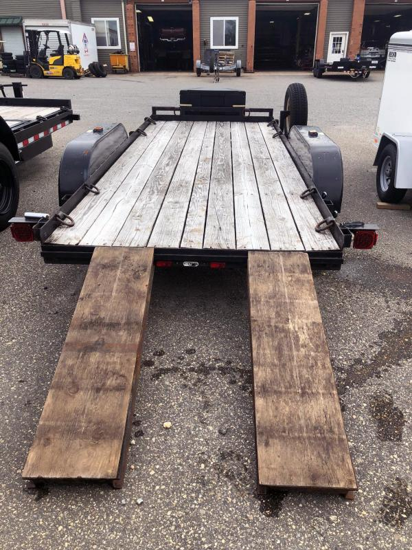 2014 USED 5x14 Utility Trailer with SIR Slide in Ramps Utility Trailer