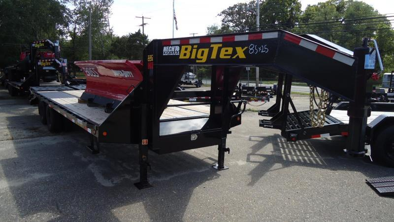 2021 Big Tex Trailers EH 8.5X25 22GN 20BK +5MR MEGA BLACK Equipment Trailer
