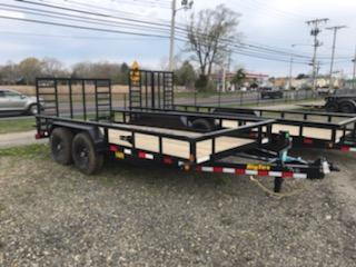 2021 Big Tex Trailers 7X16 / 14PI Utility Trailer